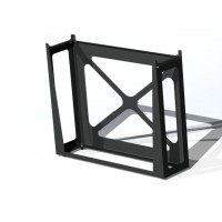 armor rack stand, laser-cut, welded racks