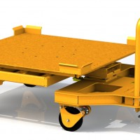 Wagon Steer Carts, Automotive Cart Casters